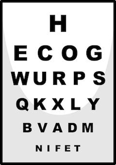 眼科医のための読書チャート