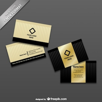 Ready to print business card template