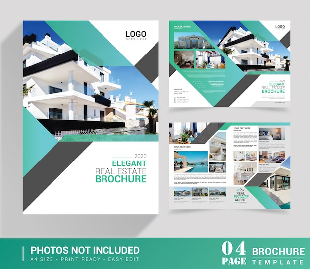 Real estate bi-fold brochure