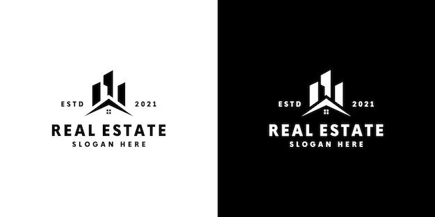 Дизайн логотипа здания недвижимости
