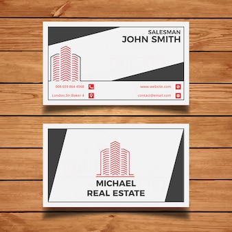 real estate business card - Real Estate Business Card