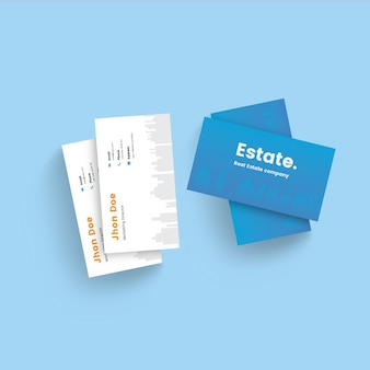 Real estate corporate business card