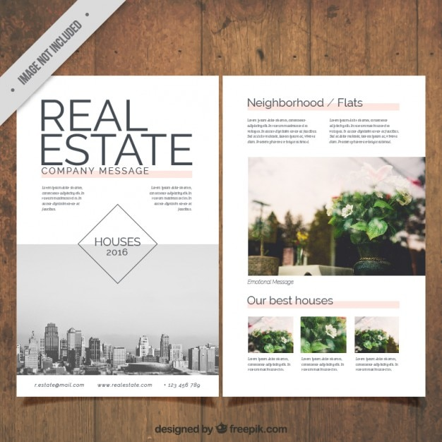 Real Estate Flyer With Pictures