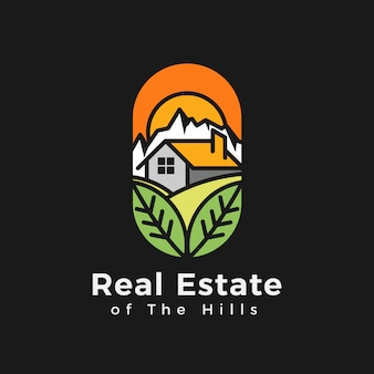 Real estate of the hills logo