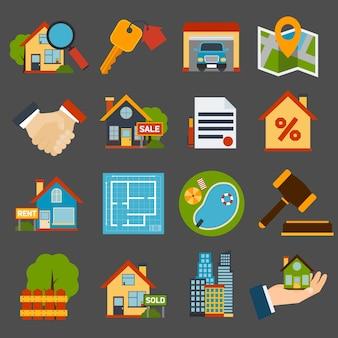 Иконки недвижимость