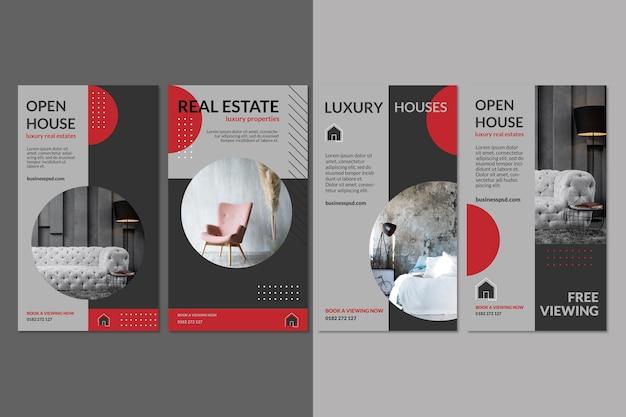 Real estate instagram stories template