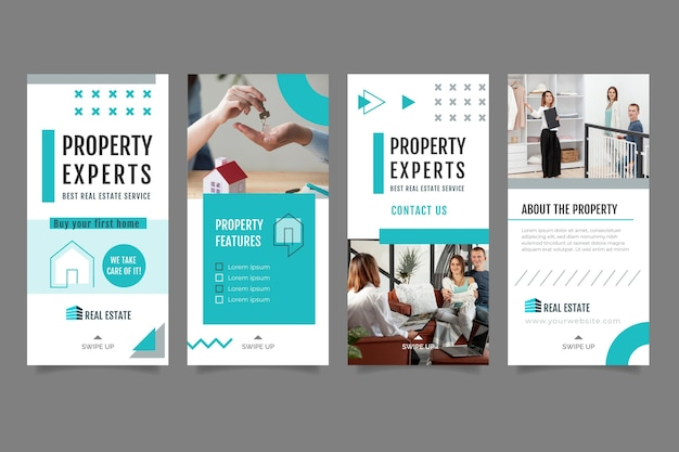 Real estate instagram stories template