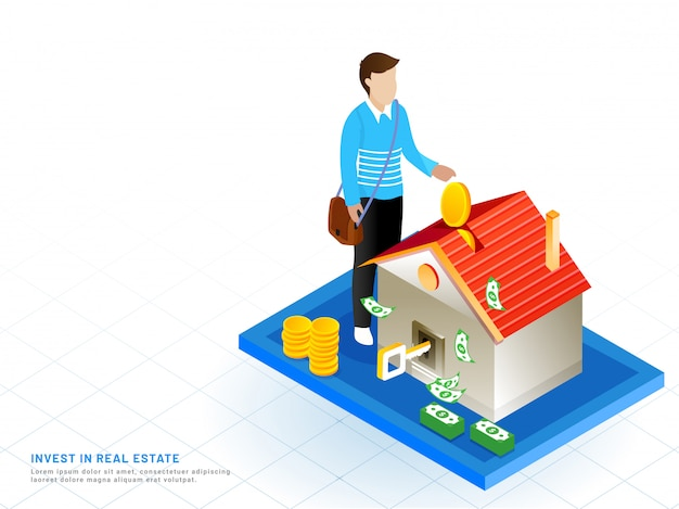 Real estate investment concept.