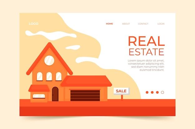 Pagina di destinazione immobiliare