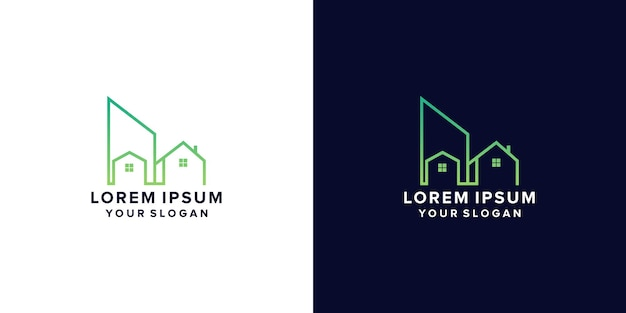Real estate logo home care logopropertyhouse logohome and building