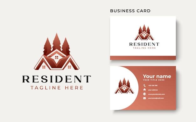 Шаблон логотипа недвижимости, изолированные на белом фоне. векторные иллюстрации
