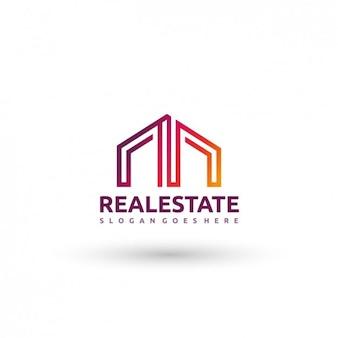 Immobiliare logo template