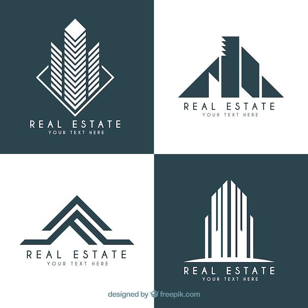 Real Estate Logotypes In Modern Design