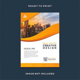 Real estate modern flyer design