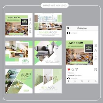 엽서 템플릿-부동산 소셜 미디어