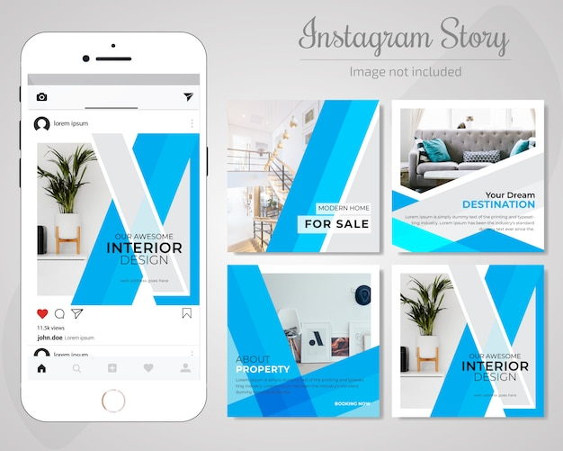 Real estate social media опубликовать шаблон
