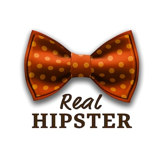 Real hipster logo