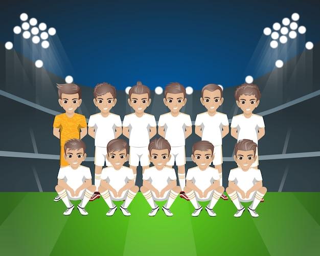 レアルマドリードサッカーチーム