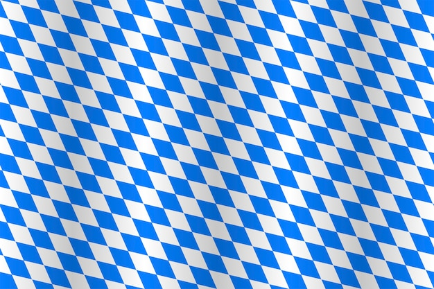 Real seamless fabric of state flag of bavaria.