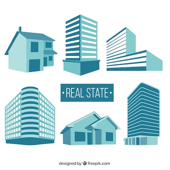 Real state buildings