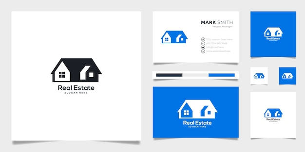 Real state logotype template