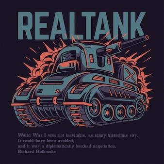 Real tank