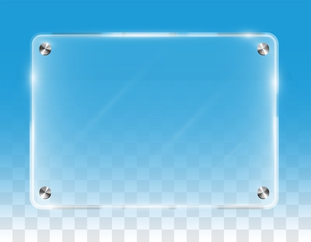Real  transparent shining wall acrylic board