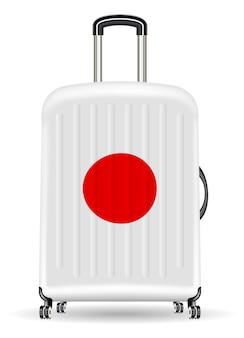 日本の本物の旅行荷物袋