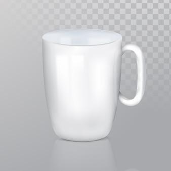 Realisitc vector mug