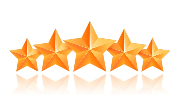 Realistic 3d gold star. award winner. five gold stars. good job. best reward. bulk copper star. simple 5 star. the award for the best choice. premium class.