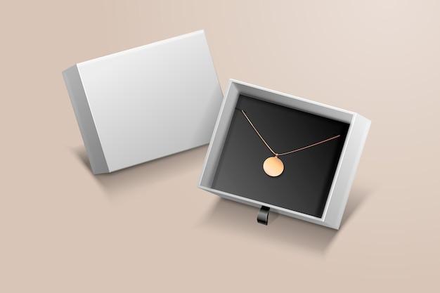 Realistic 3d jewelry arrangement