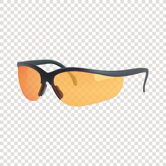 Realistic 3d sport adventure sunglasses