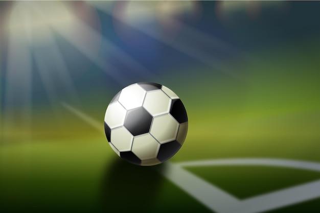 現実的な抽象的なサッカーの背景