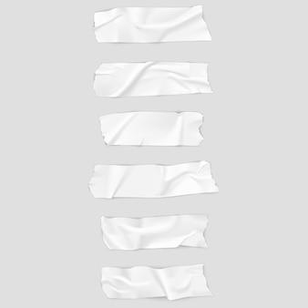 Реалистичная коллекция клейкой ленты.