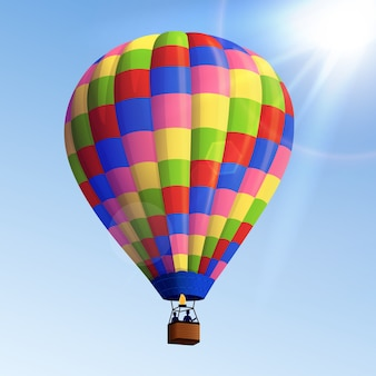 Realistic air balloon