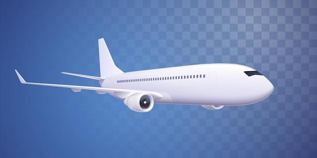分離された現実的な飛行機