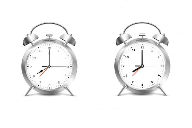 Realistic alarm clock.