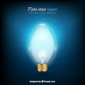 Realistic background make ideas happen