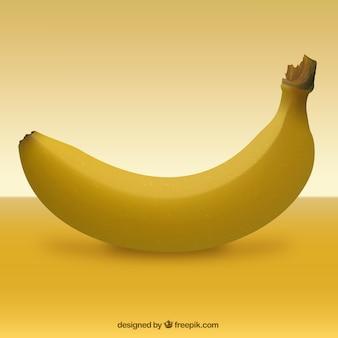 Realistic banana