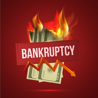Realistic bankruptcy concept