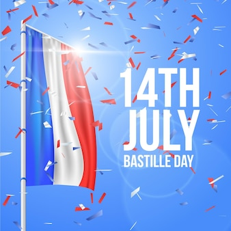Realistic bastille day event