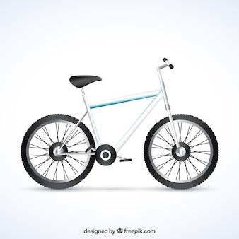 Realistico bicicletta