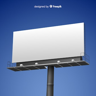 Realistic billboard