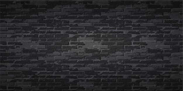 Реалистичный черный кирпич фон в редактируемом файле eps cc