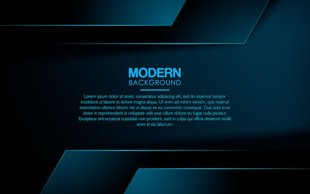 Realistic blue overlap layer background