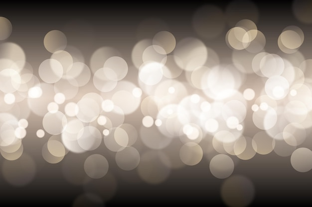 Realistic bokeh lights background