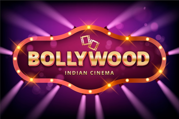 Realistico segno del cinema di bollywood