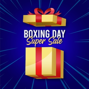 Vendita realistica di boxe day