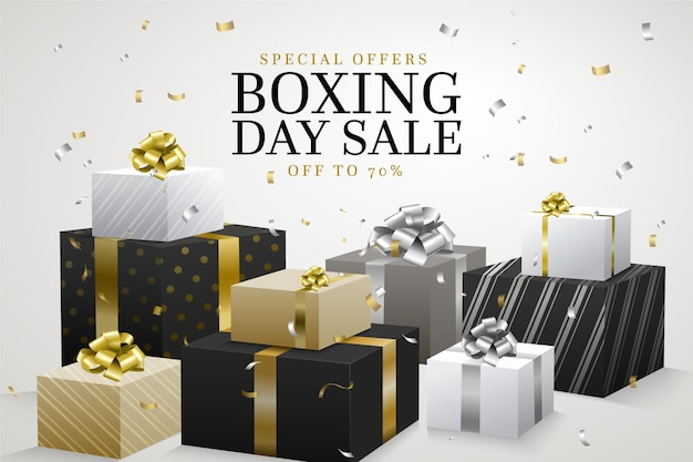 Realistic boxing day sale