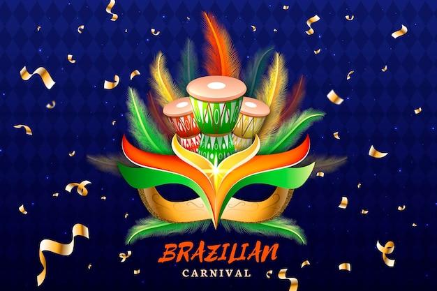 Реалистичная концепция бразильского карнавала